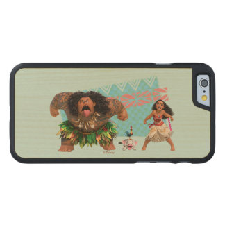 Moana   We Are All Voyagers Carved Maple iPhone 6 Case