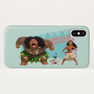 Moana | We Are All Voyagers iPhone X Case