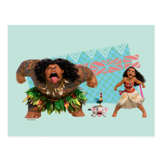 Moana | We Are All Voyagers Postcard