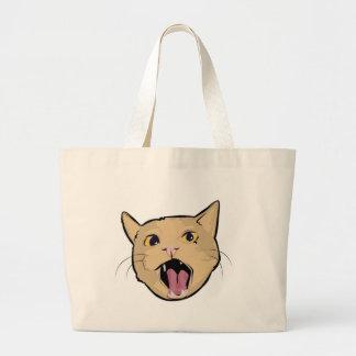 MOAR cat Canvas Bags