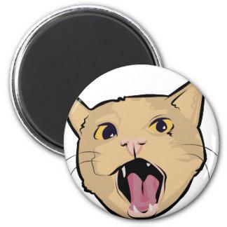 MOAR cat Fridge Magnet