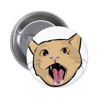 MOAR cat Pinback Button