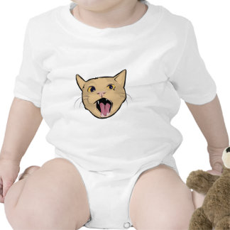MOAR cat Baby Bodysuit