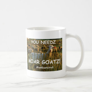 moar goatz coffee mug