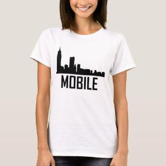 Mobile Alabama City Skyline T-Shirt