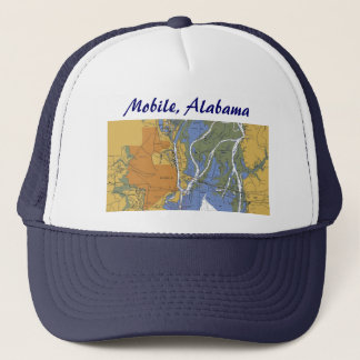 Mobile, Alabama Nautical Harbor chart hat