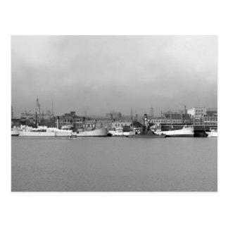 Mobile, Alabama Waterfront, 1906 Postcard
