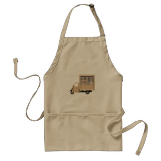 Mobile Coffee Van Apron