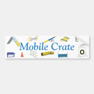 Mobile Crate Bumper Sticker