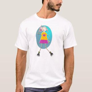 Mobile Girl T-Shirt