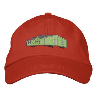 Mobile Home Embroidered Hat