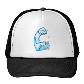 Mobile Music Producer - Blue Mesh Hats