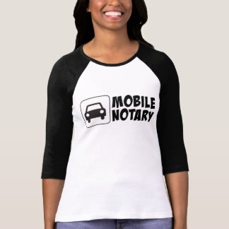 Mobile Notary Public Car Sign T-Shirt