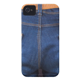 Mobile phone and euro money in blue jeans iPhone 4 Case-Mate case