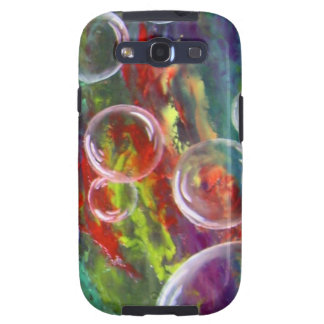Mobile phone bowl multicolored and merrily galaxy SIII case