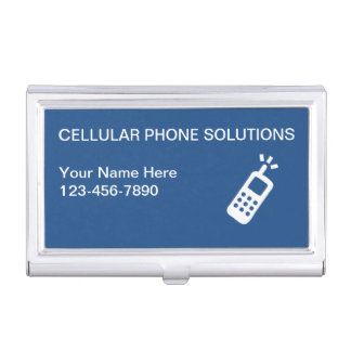 Mobile Phone Business Card Case