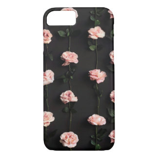 Mobile phone covering roses | pink iPhone 8/7 case