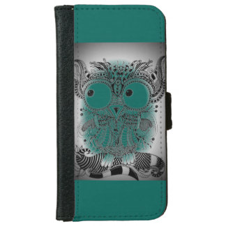 Mobile phone purse ZenZia owl Iphone iPhone 6 Wallet Case