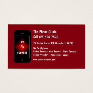 Mobile Phone Repair Business Card