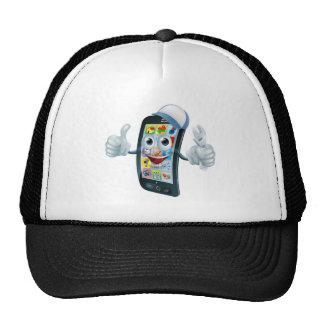 Mobile phone repair character trucker hats