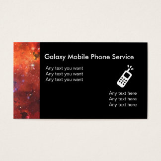 Mobile Phone Service Business Cards