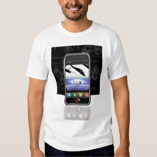 mobile phone text message Happy Birthday Shirt