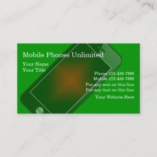 Cellular phone business cards business card printing zazzle ca mobile phones business cards colourmoves