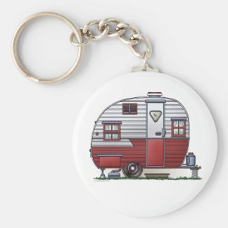 Mobile Scout Camper Keychain
