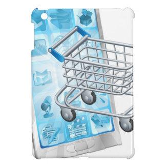 Mobile shopping app concept iPad mini covers