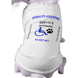 Mobility Assistance Dog - I'm Working! Shirt
