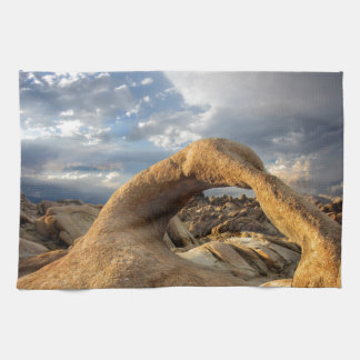 Mobius Arch - Alabama Hills - California Hand Towel
