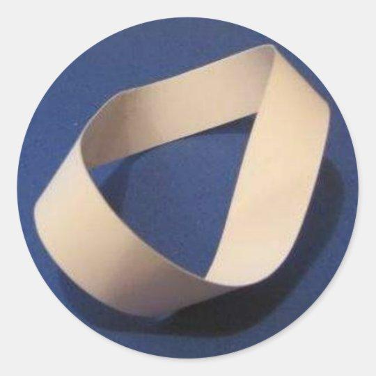 Mobius Classic Round Sticker