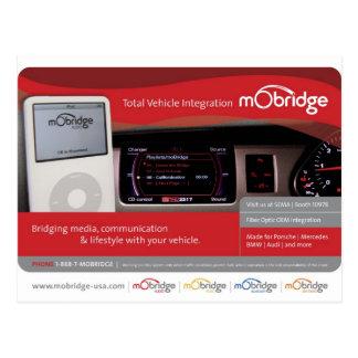 mObridge USA pre-SEMA postcard
