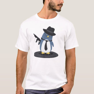 Mobster Penguin T-Shirt