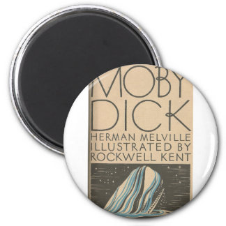 Moby Dick Cover Magnet