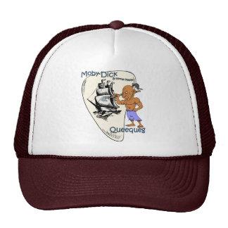 """""""Moby-Dick"""" ~ Queequeg """"ChiefHarpooner"""" Trucker Hat"""