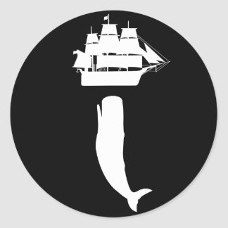 Moby Dick Rising Stickers