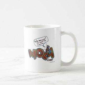 Moca Caca Classic White Coffee Mug