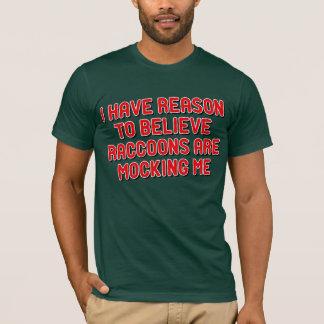 Moccing Raccoons T-Shirt