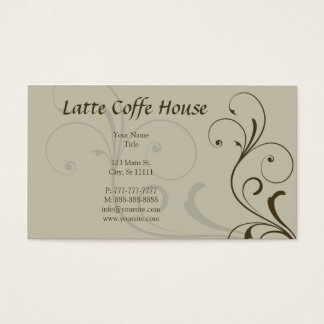 Mocha Business Card