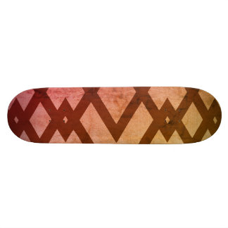 Mocha Creme Color Skateboard Deck
