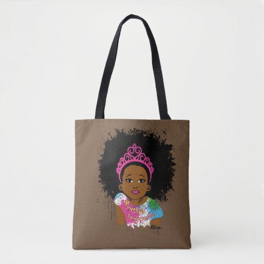Mocha Princess All Over Print Bag