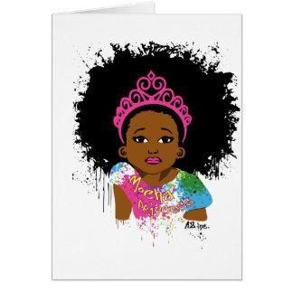 Mocha Princess Card