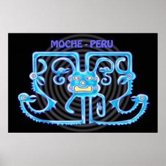 MOCHE-PERU POSTER