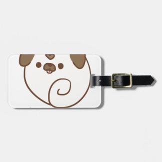 Mochi the Pug Bag Tag