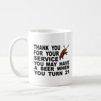 Mocking The 21 Drinking Age Coffee Mug