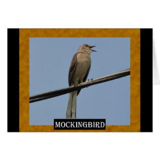 Mockingbird (AK, FL, MS, TN, TX) Card