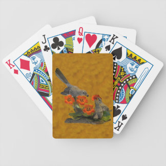 Mockingbird (Arkansas, Florida, Mississippi,Texas) Poker Deck