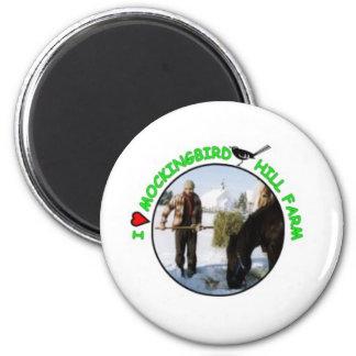 MOCKINGBIRD HILL FARM 2 INCH ROUND MAGNET