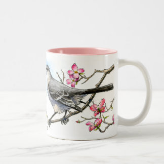 Mockingbird in the Dogwoods Mug